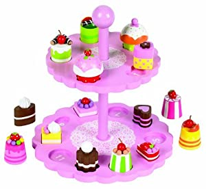 Branching Out High Tea Shape Matching Cake Stand by Branching Out