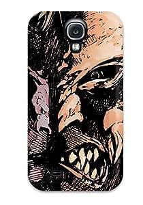 High Grade Aarooyner Flexible Tpu Case For Galaxy S4 - Animal Man Comics Anime Comics