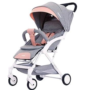 Cochecito de bebé ligero y compacto con silla de paseo ...