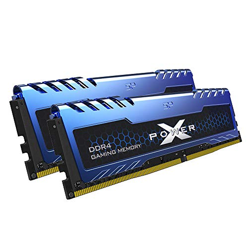 Silicon Power 16GB (8GBx2) XPOWER Turbine Gaming DDR4 3200MHz (PC4 25600) 288-pin CL16 1.35V UDIMM Desktop Memory Module - Low Voltage (SP016GXLZU320BDA)
