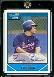 Topps 2007 Bowman Draft Draft Picks # BDPP12 Freddie Freeman (RC) - Atlanta Braves - Rookie Baseball Card in a Protective Display Case