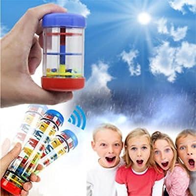 HoFire [Premium Quality] Rainmaker, Kids Mini Education Rainmaker Toys, Infant Autism Autistic Toys Creates A Rain-Like Sound Suit for Autistic Autism Children (8 Inch): Toys & Games
