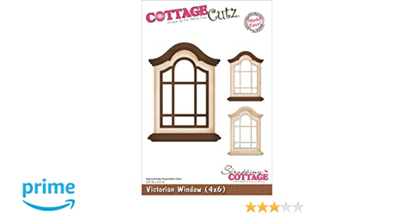 Amazon.com: CottageCutz Die Cuts, 4 by 6-Inch, Victorian Window Made ...