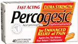 Percogesic Caplets Extra Strength 40 Caplets (Pack of 6)