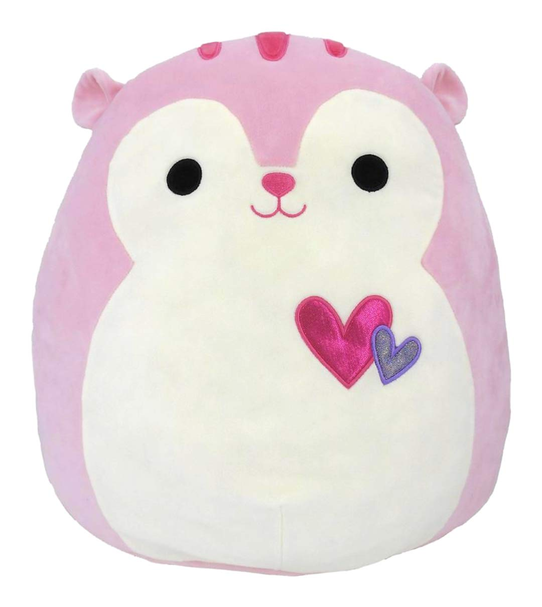 Squishmallows Plush 16'' Sarah the Pink Squirrel