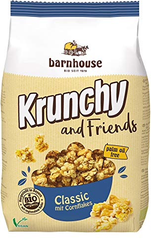 Barnhouse, Classic Muesli Krunchy & Friends Klassieke Muesli, 500 g