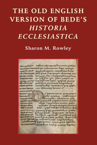 The Old English Version of Bede's Historia Ecclesiastica (Anglo-Saxon Studies) by D.S.Brewer