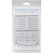 """SRM Planner Clear Stamps 4""""X6""""-Banner"""