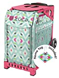 Zuca Chevron Sport roller bag - choose your frame color! (pink frame)