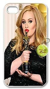 Adele iphone4&4s Durable Hard Plastic Case Cover Custom DIY