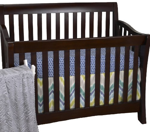 Cotton tale zebra romp 4 piece crib bedding set
