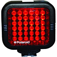 Polaroid Studio Series Rechargeable IR Night Light 36 LED Light Bar For Camcorders, Digital Cameras & SLRs