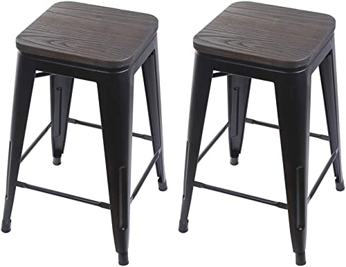 GIA 24-Inch Backless Counter Height Stool