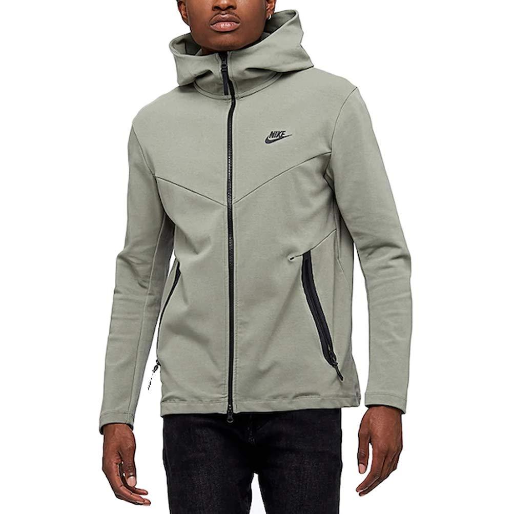 nike tech pack jacket green
