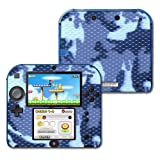 #4: MightySkins Protective Vinyl Skin Decal Cover for Nintendo 2DS wrap sticker skins Blue Camo