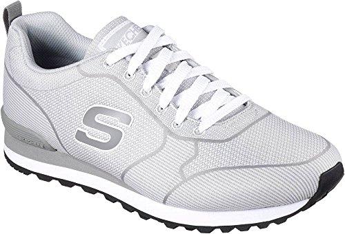 Skechers Mens Og 85 Burris Sneaker Grigio Chiaro / Nero