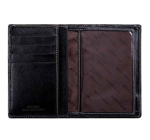 13 Cuero Grano Billetera Cm Roma X De 1 Orientación 020 Vertical Color Colección Negro 9 22 5 5 Material Wittchen Tamaño 1 YgnIPIq