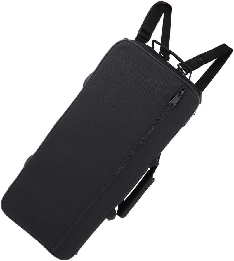 Portable Musical Trumpet Hard Case Big Bag Black for Trumpeter