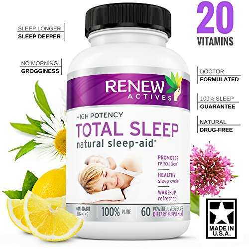 FLASH SALE - All Natural Sleep Aid Supplement. Non-Habit For
