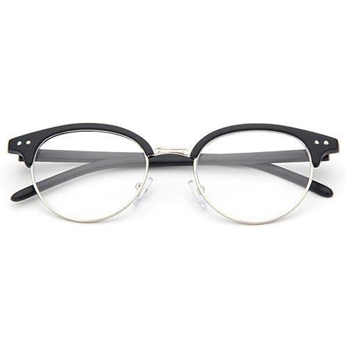 hibote Marco de los vidrios de la lente clara Hombres Mujeres - Xier