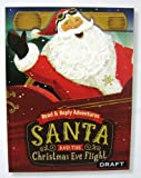 Hallmark Christmas XKT1287 Santa and The Christmas Eve Flight - Read and Reply Adventure Book