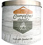 Bath and Body Works Candle 3 Wick 14.5 Ounce Campfire Donut