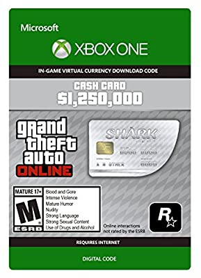 Grand Theft Auto V Cash Cards