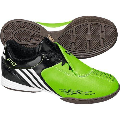 adidas, Scarpe da calcetto bambini verde verde