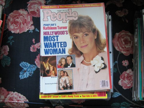 People Weekly (KATHLEEN TURNER...Peggy Sue , Body Heat , Prizzi's Honor , Romancing The Stone, November 3 , 1986)