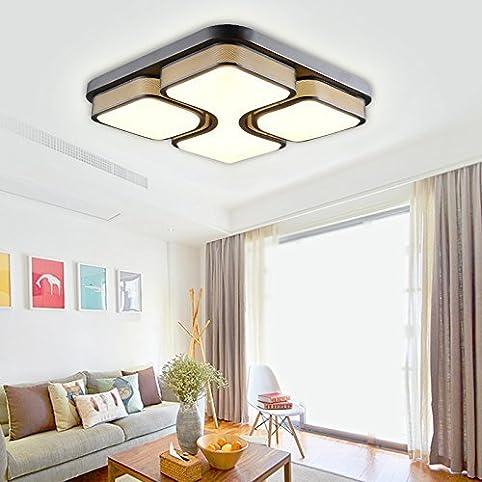 Hg® 36W Led Deckenlampe Deckenleuchte Warmweiß Modern Wohnzimmer