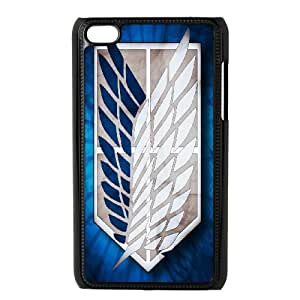 Attack On Titan iPod Touch 4 Case Black VC9402N0