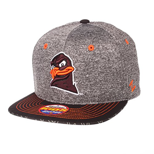 - Zephyr NCAA Virginia Tech Hokies Children Boys Prodigy Youth Snapback Hat, Youth Adjustable, Gray/Team Color