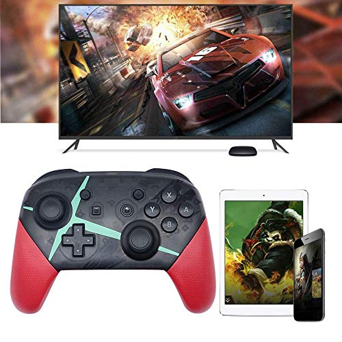 (OMKARSY Wireless Controller for Nintendo Switch,Pro Controller Bluetooth Gamepad Joypad Remote Compatible with Nintendo Switch Console (red))