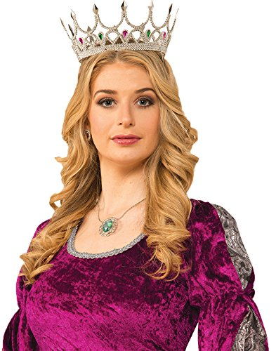 forum-novelties-medieval-royal-queen-costume-crown-silver