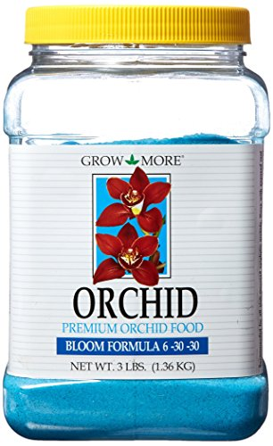 Grow More 7516 Premium Orchid Bloom 6-30-30 Fertilizer, 3-Pound
