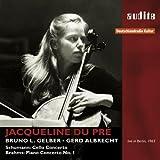 ロベルト・シューマン : チェロ協奏曲   ブラームス : ピアノ協奏曲 第1番 (Schumann : Cello Concerto   Brahms : Piano Concerto No. 1 / Jacqueline du Pre , Bruno L. Gelber , Gerd Albrecht) (live in Berlin, 1963) [輸入盤]