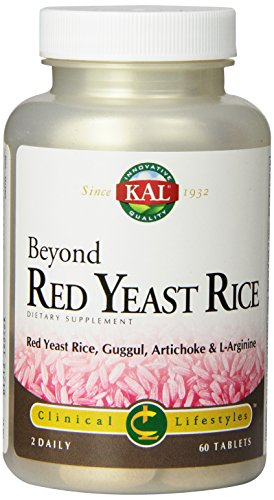 KAL Beyond Red Yeast Rice, 60 Count