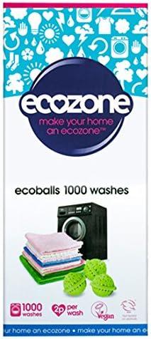 Ecobolas Ecozone 1000 lavados + Quitamanchas ecológico 45 ml ...