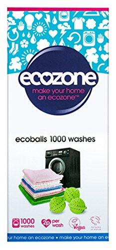 Ecobolas Ecozone 1000 lavados + Quitamanchas ecológico 45 ml
