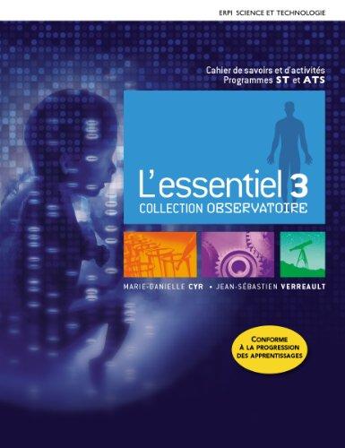 Essentiel 3 - observatoire cahier Essentiel 3 - observatoire cahier