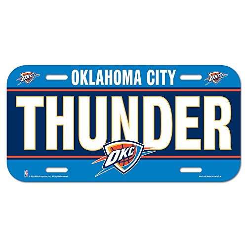 NBA Oklahoma City Thunder License Plate