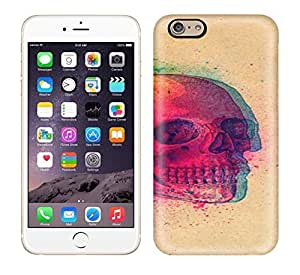 Best Power(Tm) HD Colorful Painted Watercolor Red Skull Hard Phone Case For Iphone 6 wangjiang maoyi by lolosakes