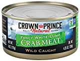 Crown Prince Natural Fancy White-Lump Crab Meat, 6-Ounce Cans (Pack of 2)