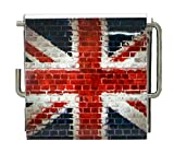 Union Jack Wall Mounted Printed Toilet Tissue Holder