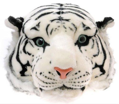 domineering personnalisée Blanc 3D tigre sac tête de peluche à Simulation dos Motif bandoulière rqvrUCn