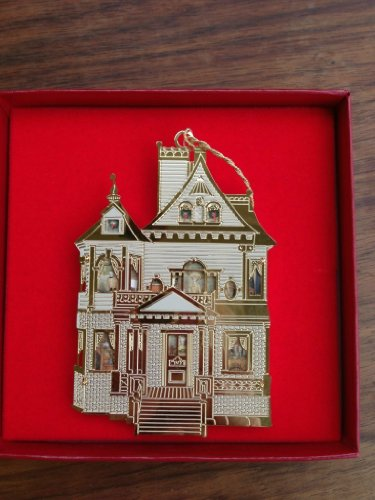 Unique 24K Gold-Plated Christmas Ornament -- 1995 Bing & Grondahl Collection --
