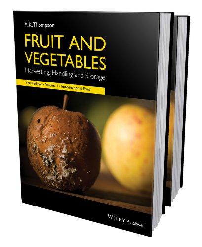 Fruit and Vegetables, 2 Volume Set: Harvesting, Handling and Storage Atlantic Set Media Storage
