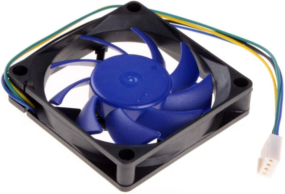 Rarido 1 Piece 7CM 4Pin CPU Cooling Fan HeatSink Hydraulic Detachable Blades FY-715 Replacement Brushless Desktop Cooler Fans P0.11