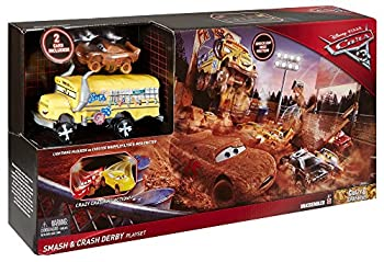 Disney Pixar Cars 3 Crazy 8 Crashers Smash & Crash Derby Playset 15