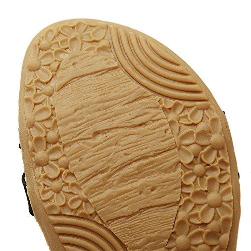sandalias mujer Sandals Sintético de Tribangke Material Bvq8wv